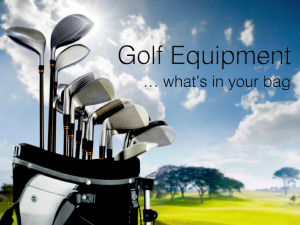 Ladies Golf Equipment