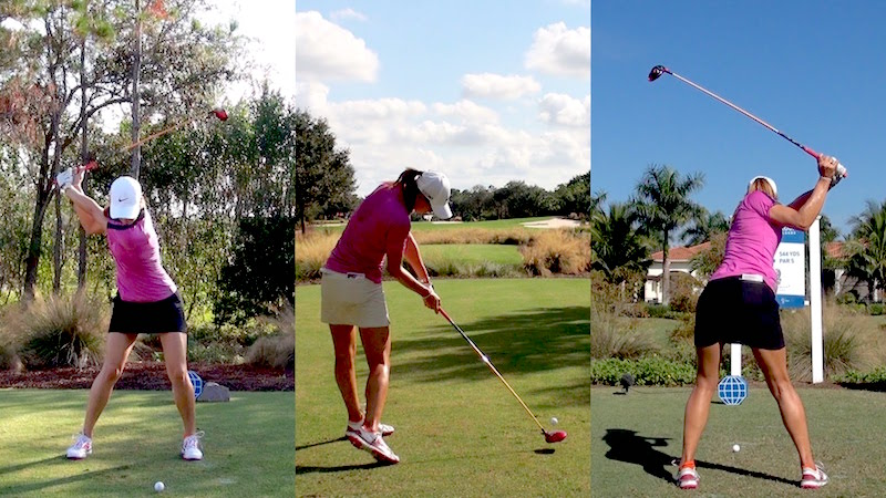 View Larger Image Michelle Wei Golf Swing