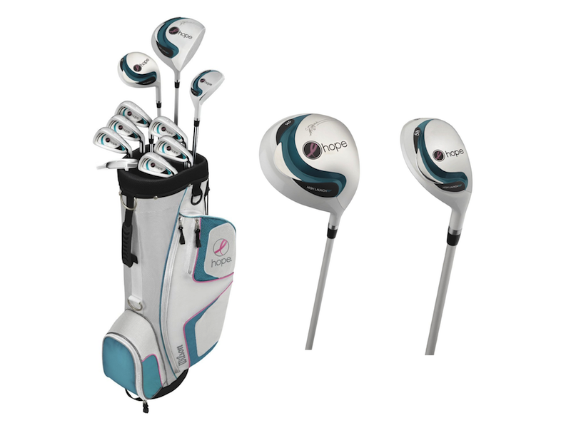 Womens Wilson Hope Golf Clubs