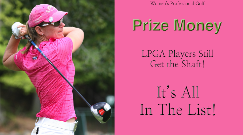 money list lpga