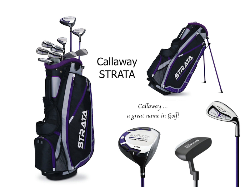 Callaway Strata Golf Clubs for Women