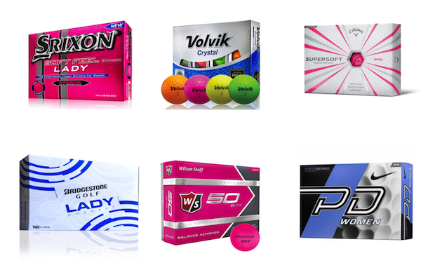 Top Rated Women's Golf Balls