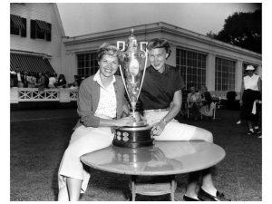 Barbara Romack and Mickey Wright