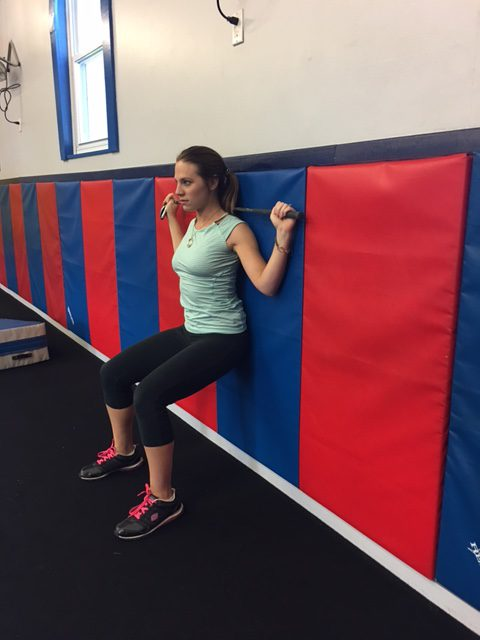Golf Exercise - Bend at Wall