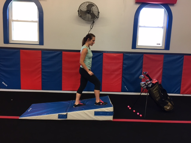 Golf Exercise - Incline