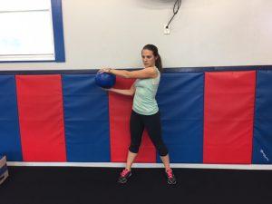 Golf Exercise - Medicine Ball-1