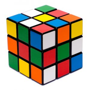 Rubix Cube Jumbled
