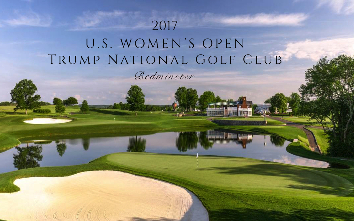 A Course Divided  On Trump  The 2017 Us Womens Open -7341