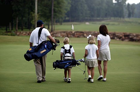 Golf as a Family Activity